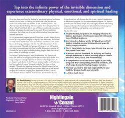 The Natural Laws of Self–Healing Back Cover